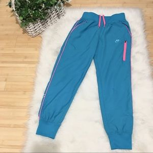 NIKE Slim-fit Windbreaker Pants/ Joggers